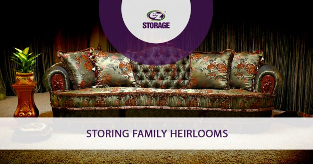 Storing Family Heirlooms