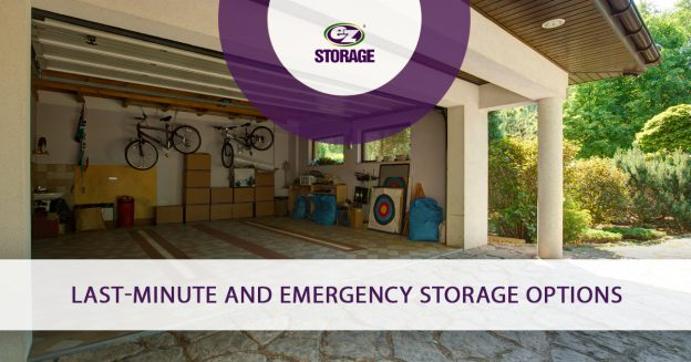 Last-Minute and Emergency Storage Options
