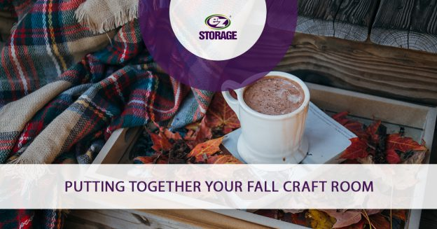 Putting Together Your Fall Craft Room