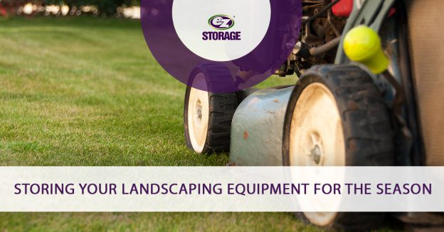 Storing Your Landscaping Equipment for the Season