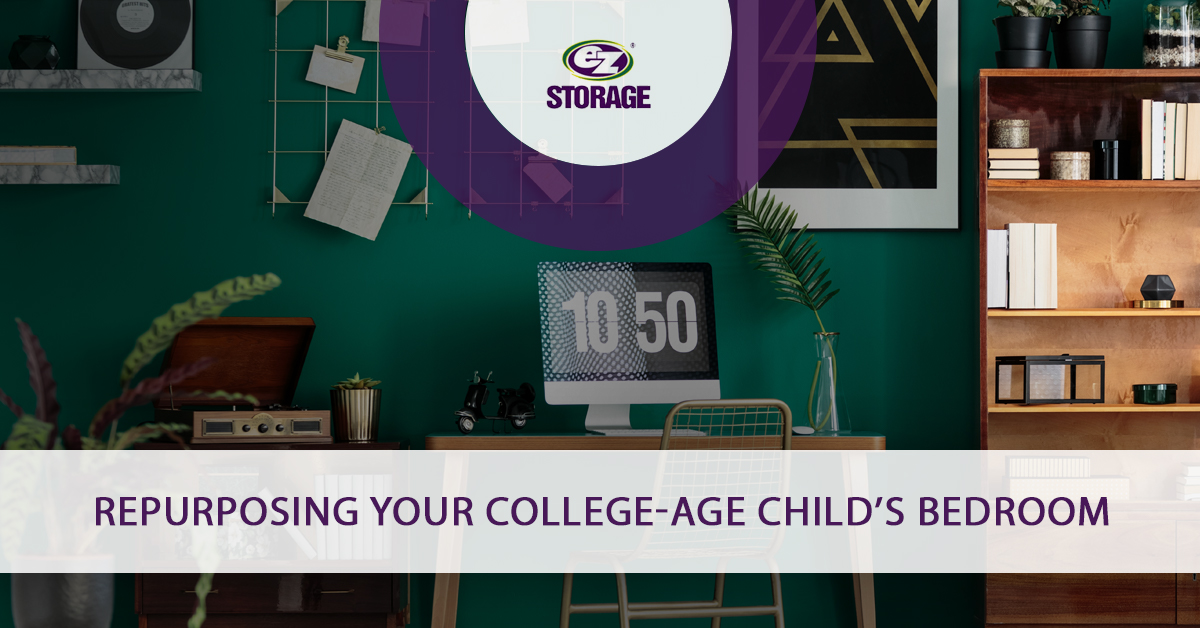 Repurposing Your College Age Child S Bedroom