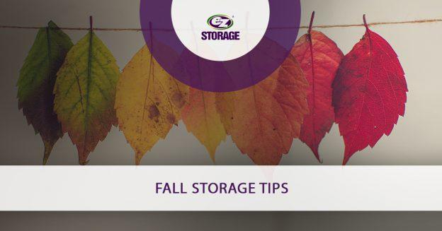 Fall Storage Tips