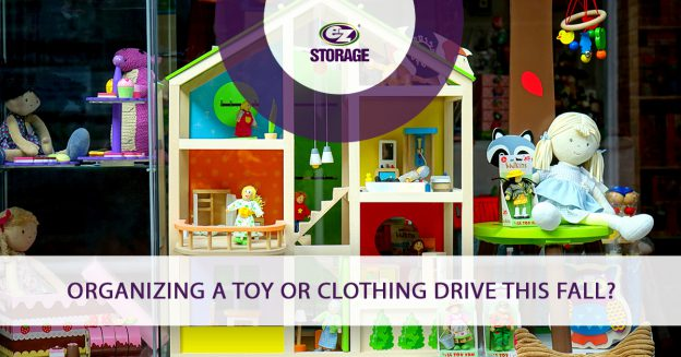 Organizing a Toy or Clothing Drive This Fall_