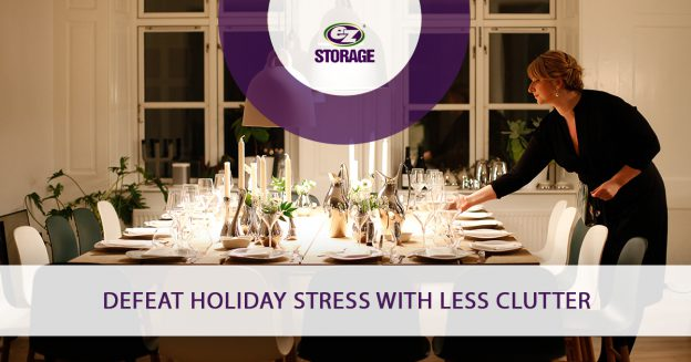 Defeat Holiday Stress with Less Clutter