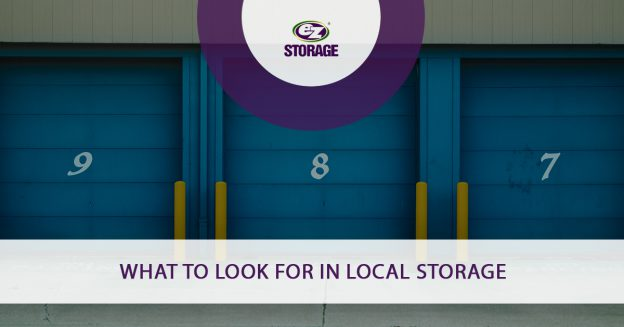What To Look For in Local Storage