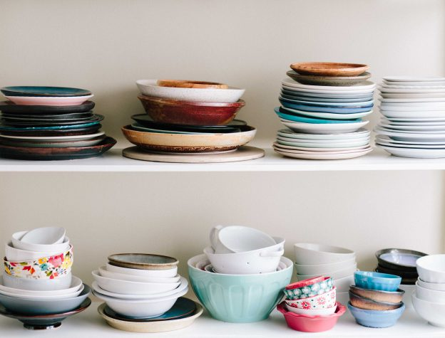 dishes-on-shelves