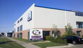 Eastpointe Michigan 48021 EZ Storage state-of-the-art storage facility featuring climate-controlled storage as well as standard storage units.